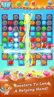 Screenshots of the Candy paradise for Android tablet, phone.