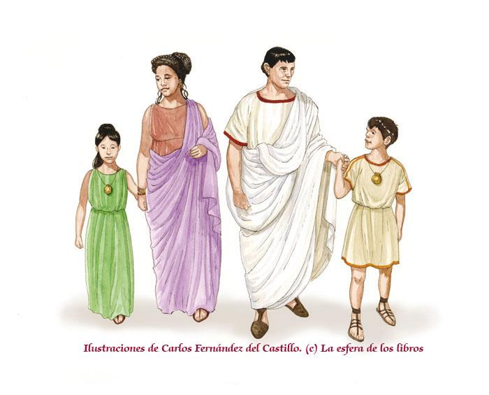 El Matrimonio Romano Monografias : La familia romana derecho romano