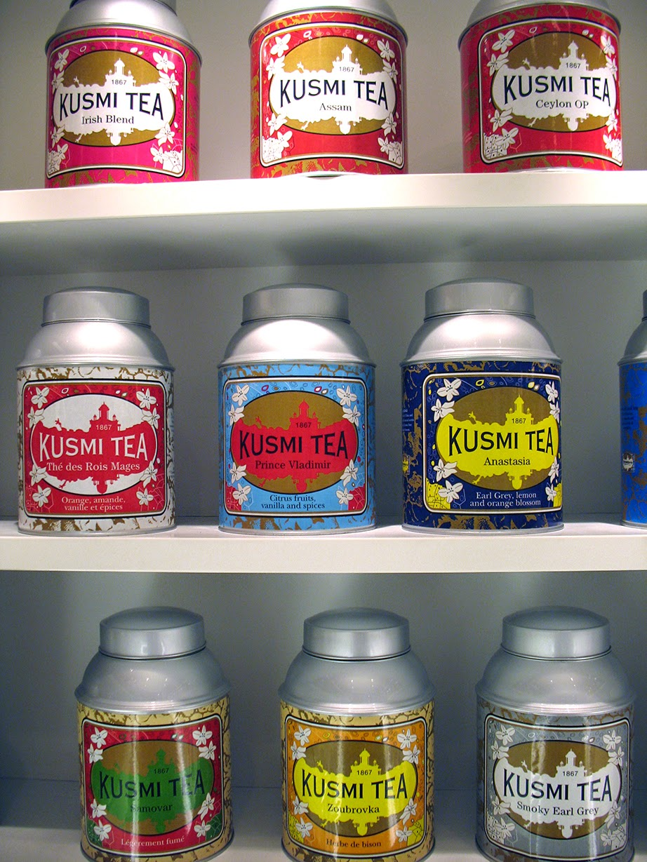 Russian teas at Kusmi