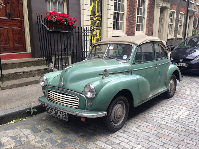 Morris Minor, Shoreditch, London