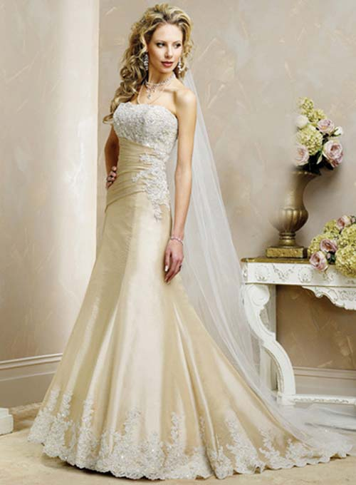 lace wedding dresses are fashionable time this season for the summer wedding