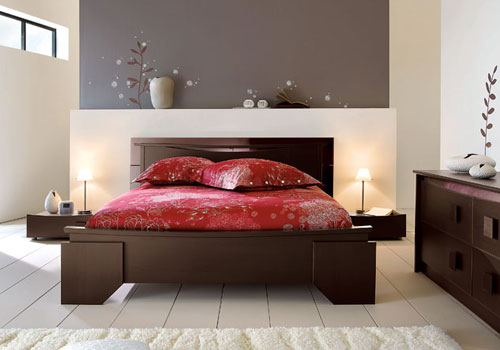 Art d co decoration chambres adultes Chambre contemporaine zen