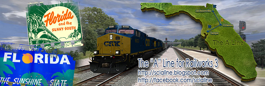 CSX-Seaboard Coast Line A Line For Railworks 3