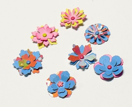 Flowers For Flower Lovers Paper Flowers Designs For Card Making