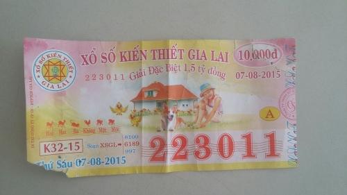 Người dân trúng xổ số giải nhất nhưng Công ty XSKT tỉnh Gia Lai từ chối trao giải?