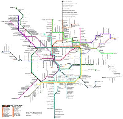 Milan Metro Map 3