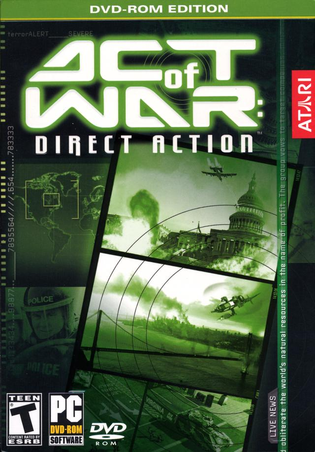 Act of War : Direct Action Pc