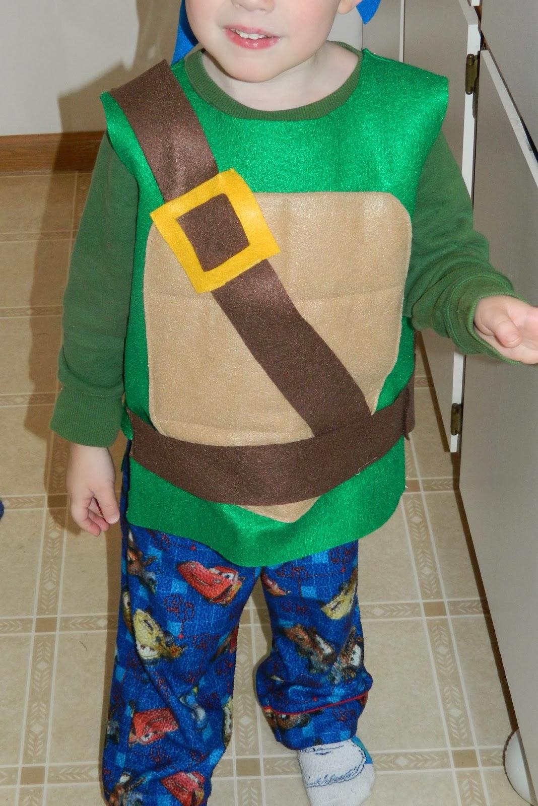 Always homemade diy felt teenage mutant ninja turtle costume always homemade solutioingenieria Choice Image