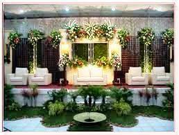dekorasi kartini: taman pelaminan pengantin
