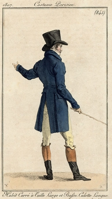 Costume Parisien 1807