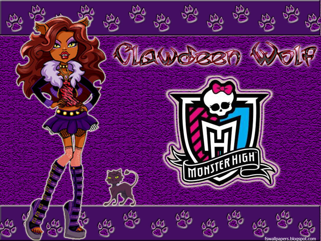 Monster High Wallpaper Clawdeen Monster high parte 1