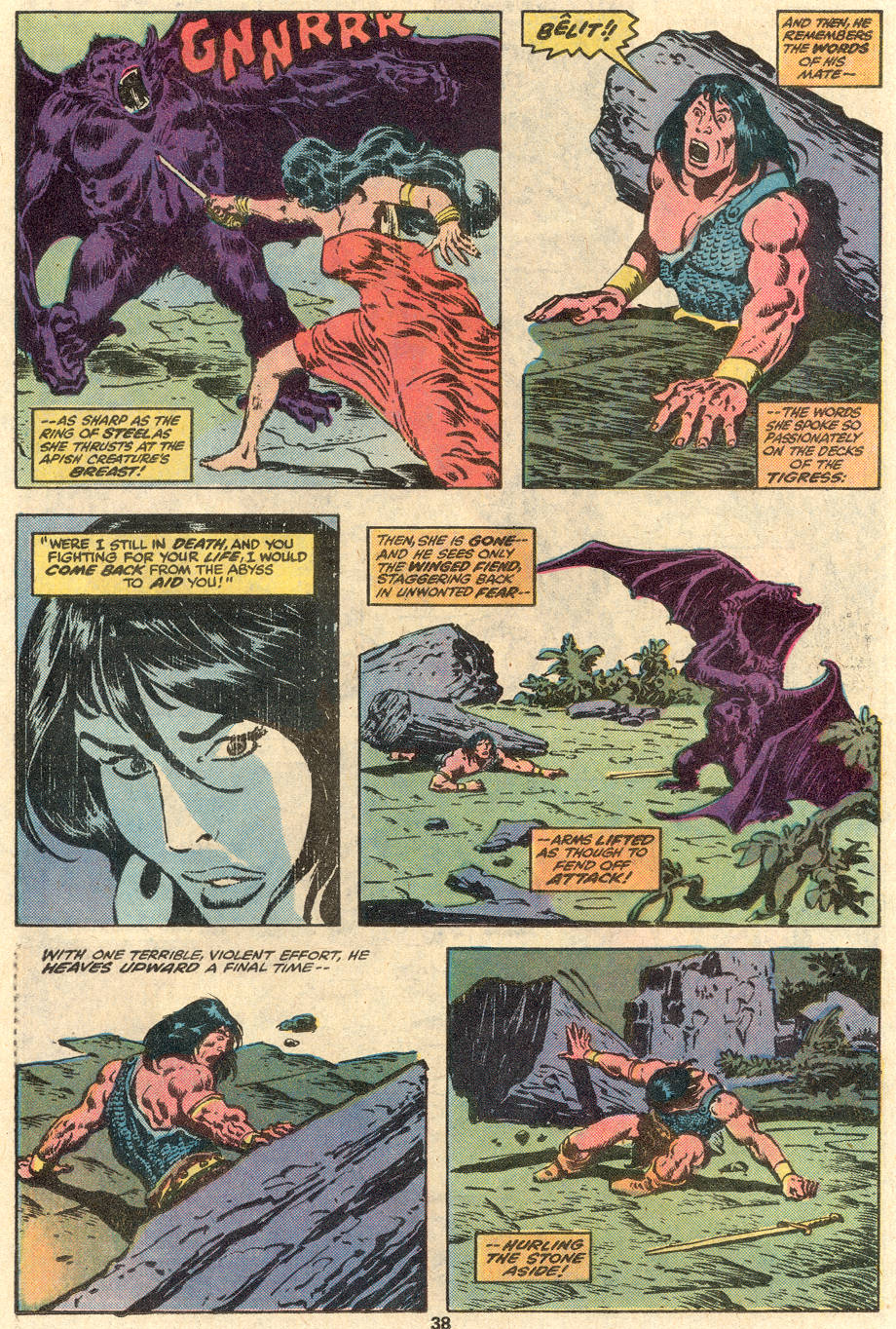 Conan the Barbarian (1970) Issue #100 #112 - English 30