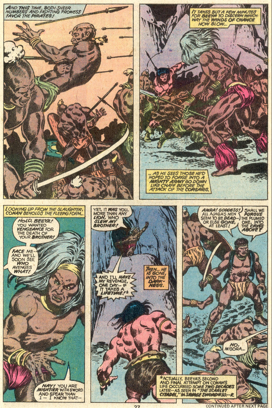 Conan the Barbarian (1970) Issue #97 #109 - English 16
