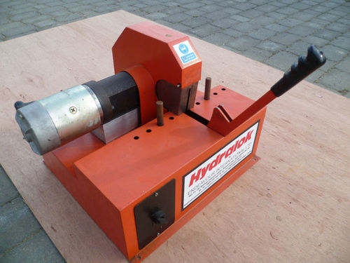 Hydraulic Pipe Cutters : Ebay scam hunter v hydraulic swaging machine swager
