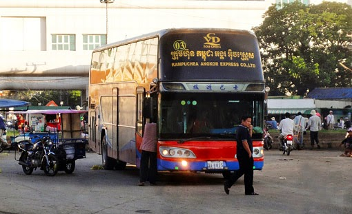 From Bangkok to Phnom Penh