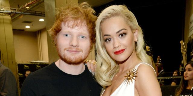 Rita Ora, cantó canción compuesta por ella y Ed Sheeran, por primera vez.