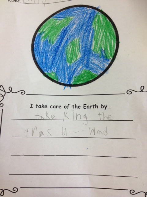 Save the earth day essay