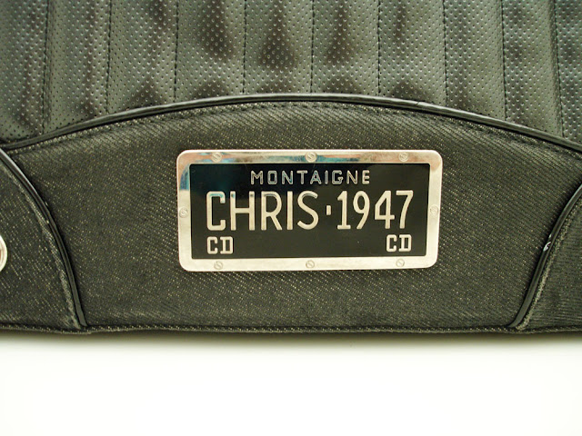 Purse Princess Authentic Christian Dior License Plate Bag