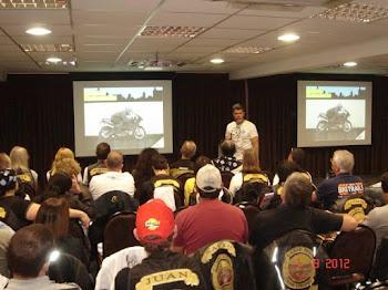 Palestra para o grupo Carpe Diem, promovida pela Porto Seguro Cia de Seguros Gerais.