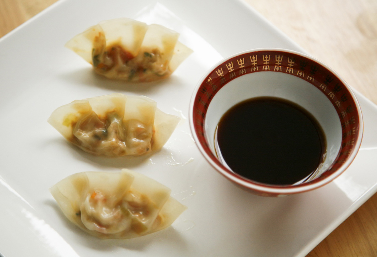 go vegan meow!: Tofu and Vegetable Dumplings