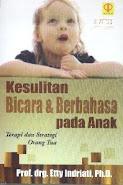 Buku Kesulitan Bicara pada anak