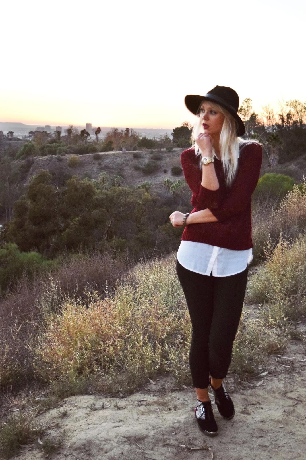 Los Angeles, sunset, zebra boots, LA, park, elysian park