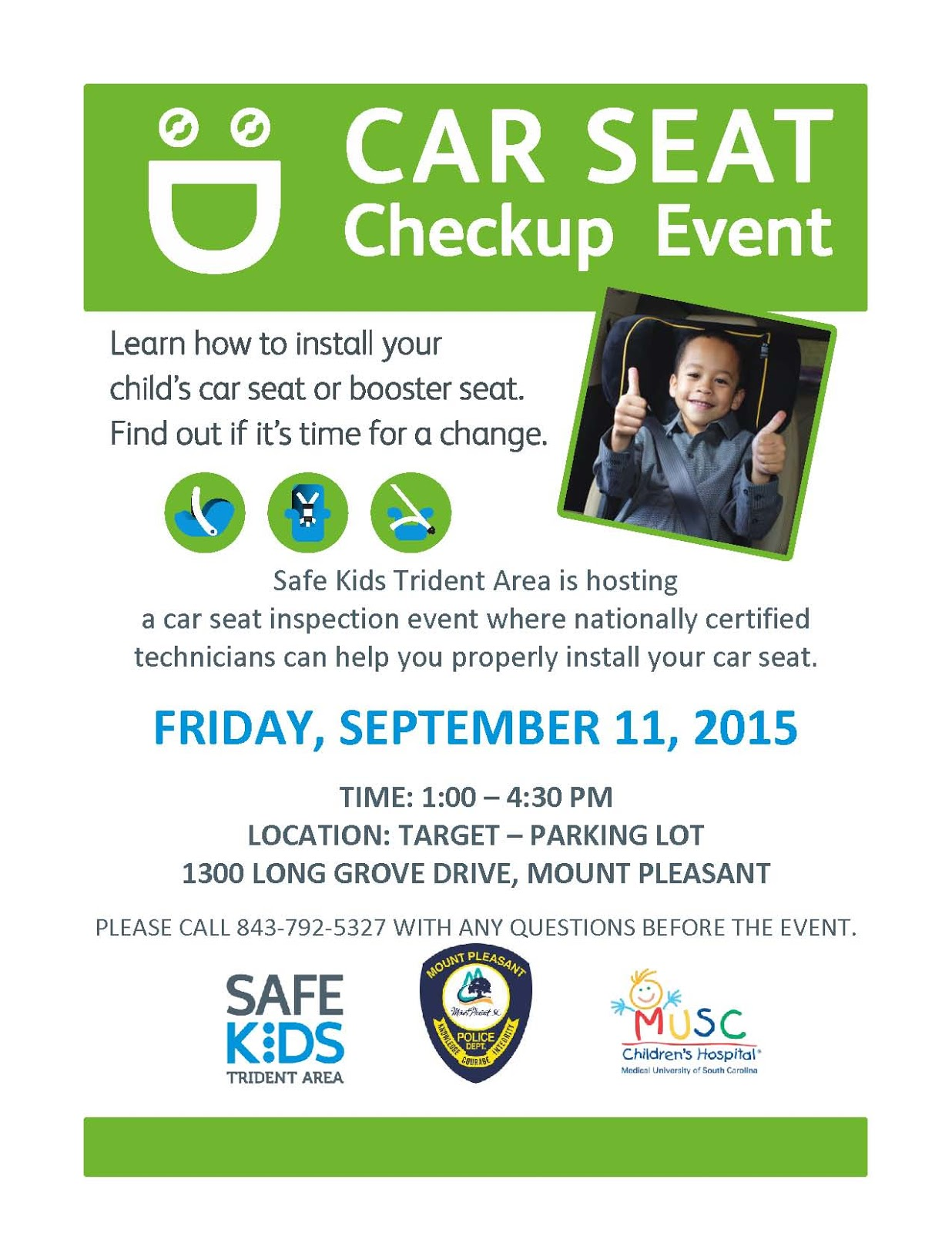 Car Seat Inspection Event