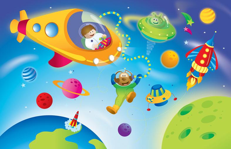 Tdah moda o realidad unidad did ctica integrada - Dibujos infantiles del espacio ...
