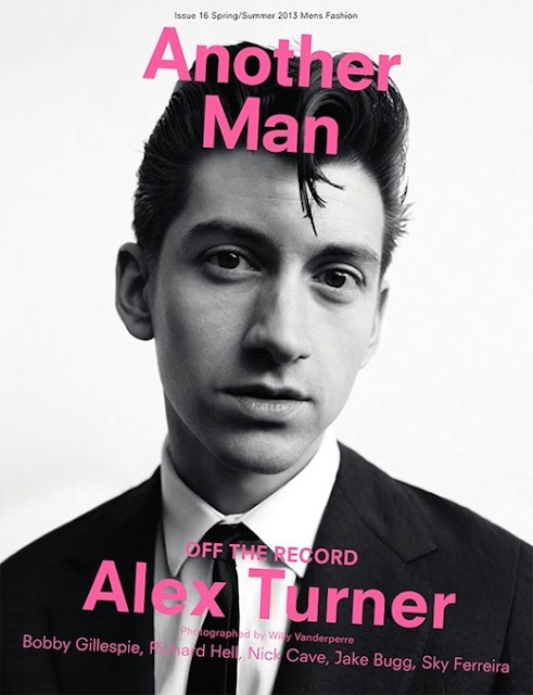 Alex Turner-Another Man Magazine-Spring 2013