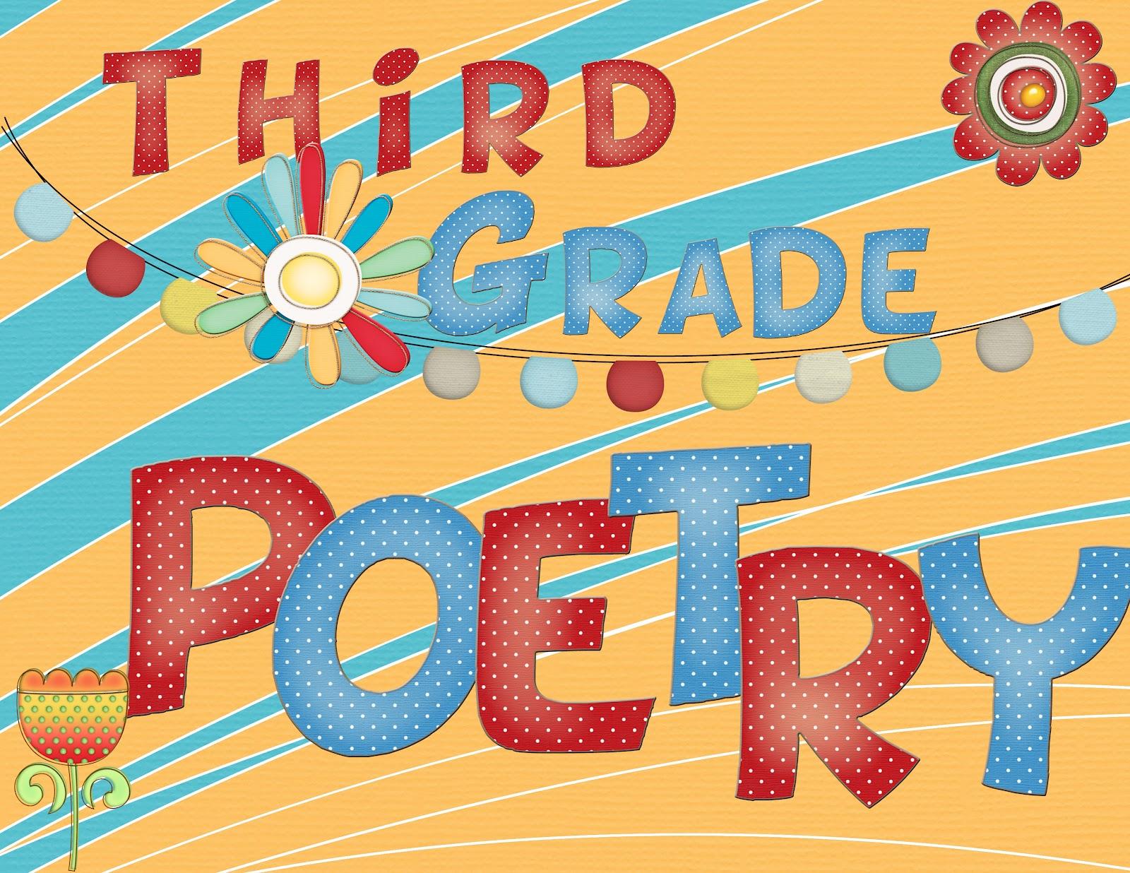 Just 4 Teachers: Sharing Across Borders: 3rd Grade Poetry Journal ...