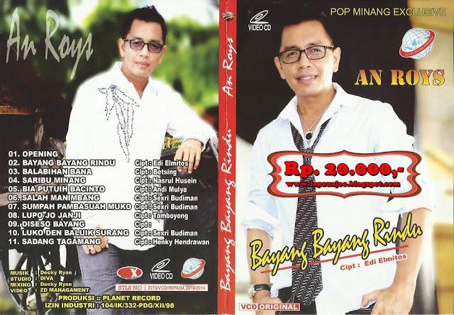 Anroys - Bayang Bayang Rindu (Album Pop Minang Exclusive)