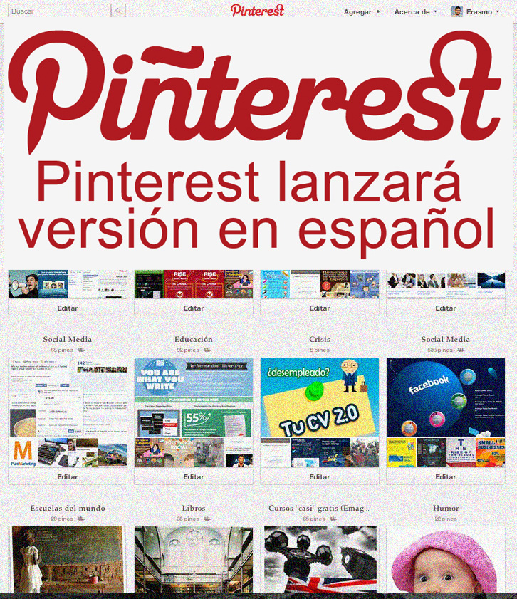 Soy erasmo pinterest en espa ol for Pinterest en espanol