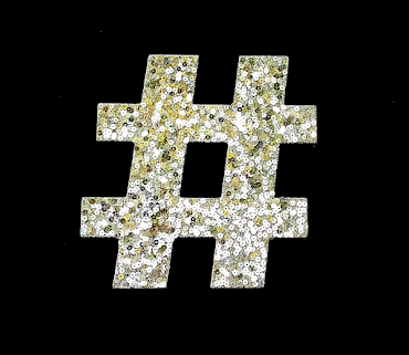 Golden Hashtag
