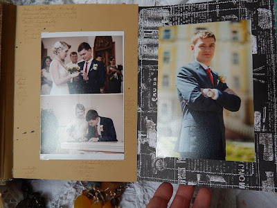 Hellen#album#wedding Album#kraft#chipbord#cutting#