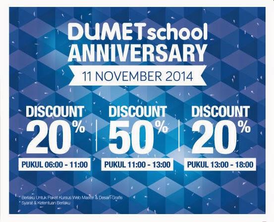 Diskon Kursus Webmaster Di DumetSchool