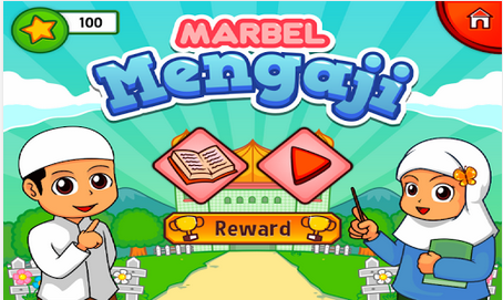 Aplikasi Android islami Marbel Mengaji Hijaiyah
