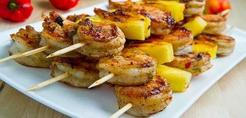Resep Masakan Kebab Udang Nanas Gurih Nikmat