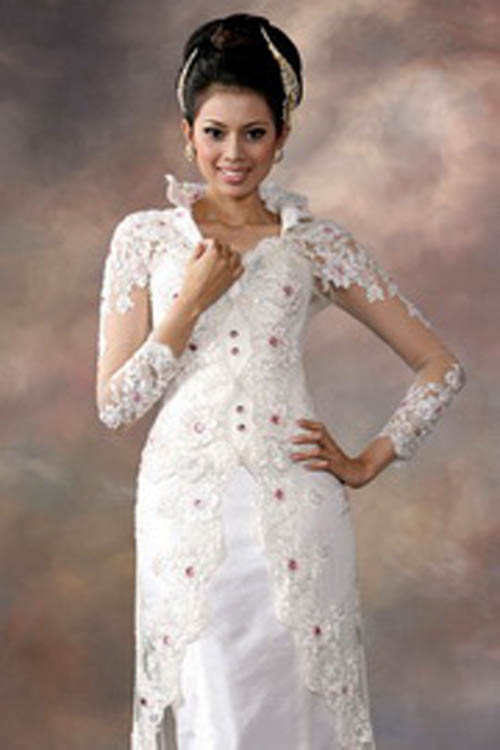 Kebaya Modern To Traditional Wedding Dress