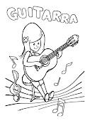 Mi colección de dibujos: Dibujos de instrumentos músicales dibujos de instrumentos musicales