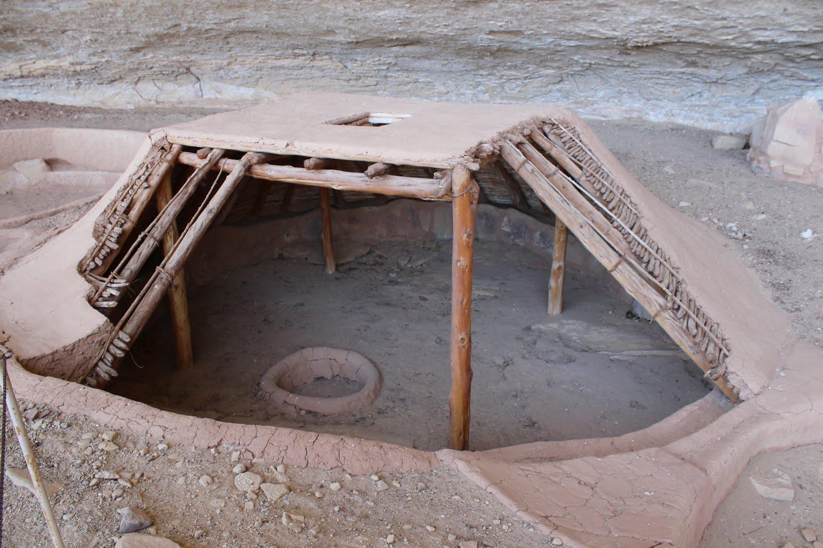 Mesa Verde Sandstone Rock Mortar : Gjhikes step house