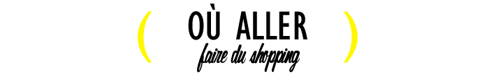 City Guide Shopping La Rochelle