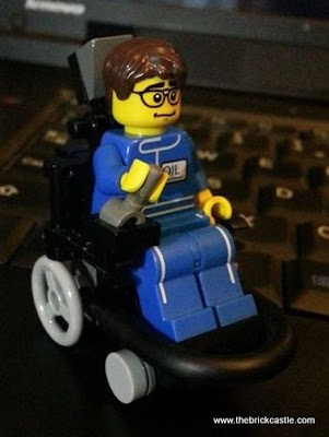 LEGO Electric Wheelchair Child Footballer
