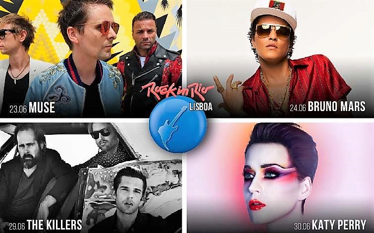 23 e 24/29 e 30 de junho: Rock in Rio Lisboa