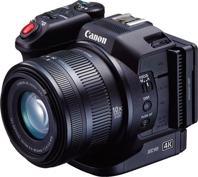 Fotografia della Canon XC10