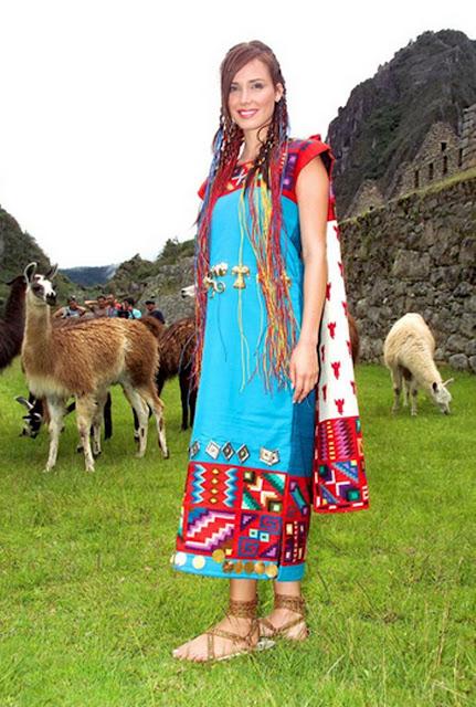 TRAJES TIPICOS DEL PERU Traditional Peruvian Dresses: Vestimenta Inca
