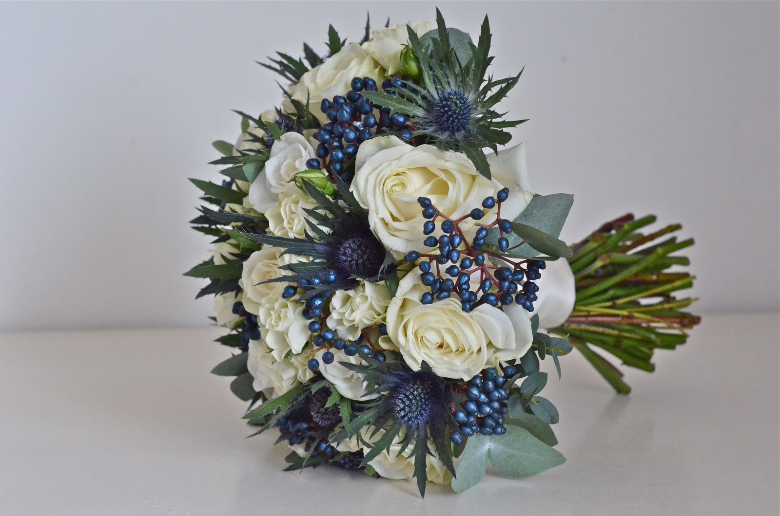Wedding Table Centrepieces Silver Weddings And Navy Blue Weddings