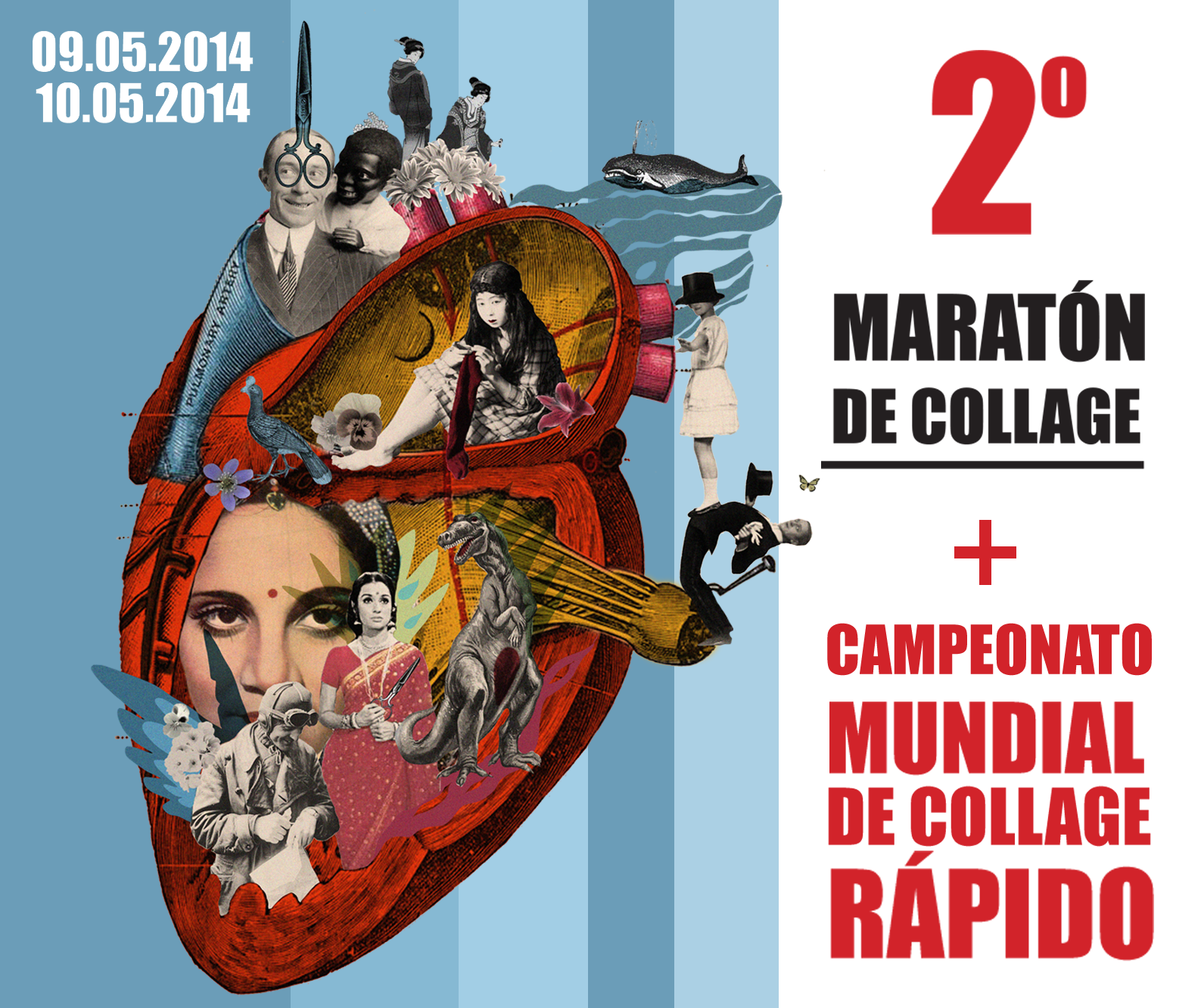 Maratón de Collage +  Campeonato Mundial de Collage Rápido