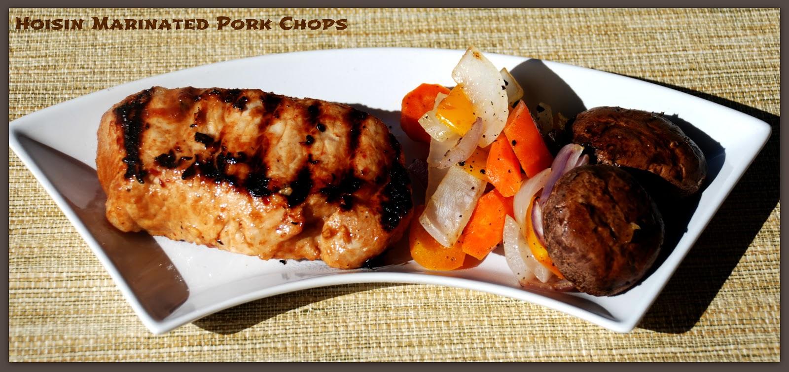 Hoisin Marinated Pork Chops