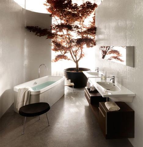 Decorating addiction karen 39 s zen bathroom for Bathroom ideas zen