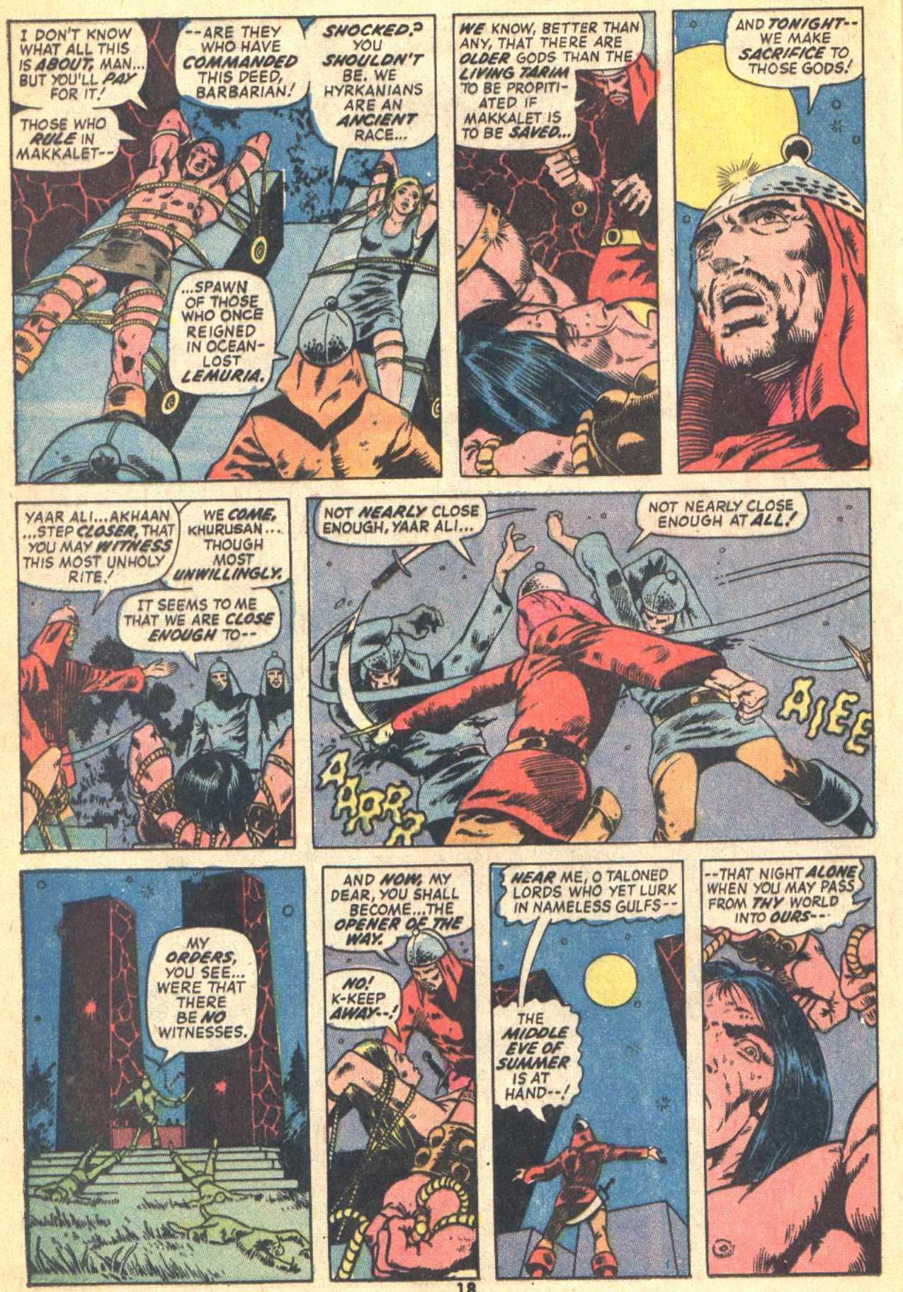 Conan the Barbarian (1970) Issue #21 #33 - English 14